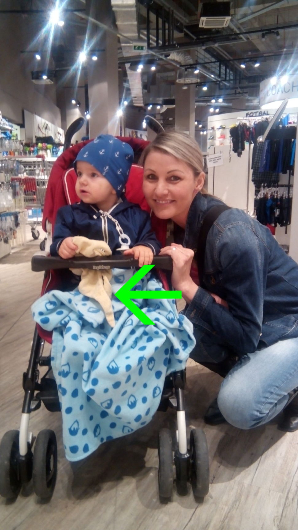 Nakupování s dětmi je mazec. S Muchlinkou je to hned lepší.