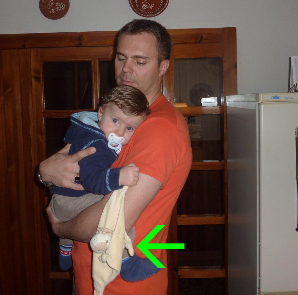 Když je dítě nemocné, tak chce Muchlinku.