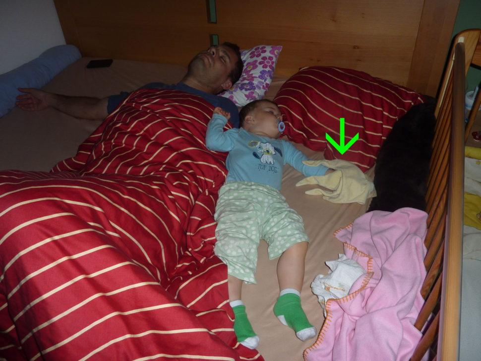 Hrozně nás to dnes unavilo. Spí se nám skvěle.