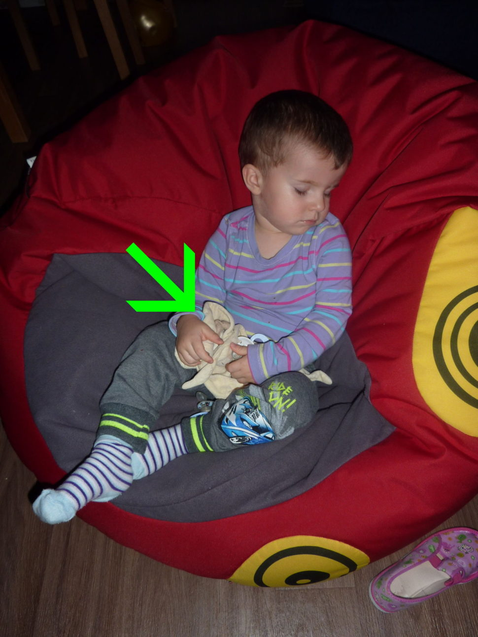 Dítě vám špatně spí? Dejte mu Muchlinku.